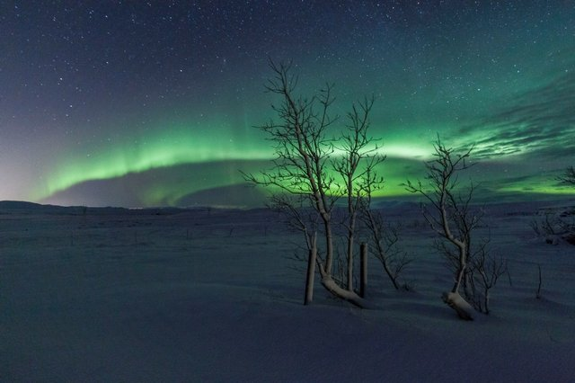 Nothern Lights Iceland © Jamie Carter