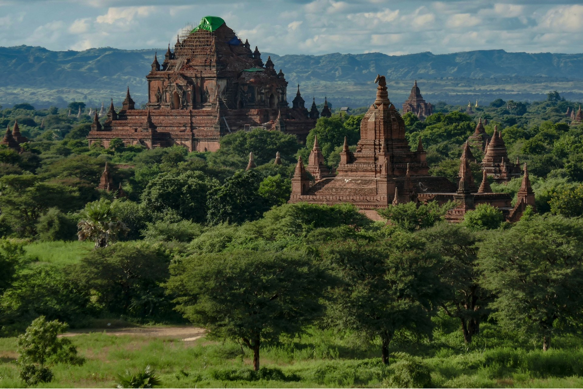 SCMP – Bagan after the earthquake