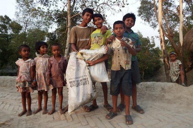 Sundarbans_litter pick-up